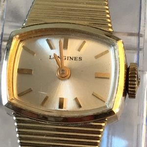 Vintage Longines 10K RGP Gold Ladies  Watch Runs